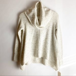 New Anthropologie Yes Lola Cowl Neck Sweater Small
